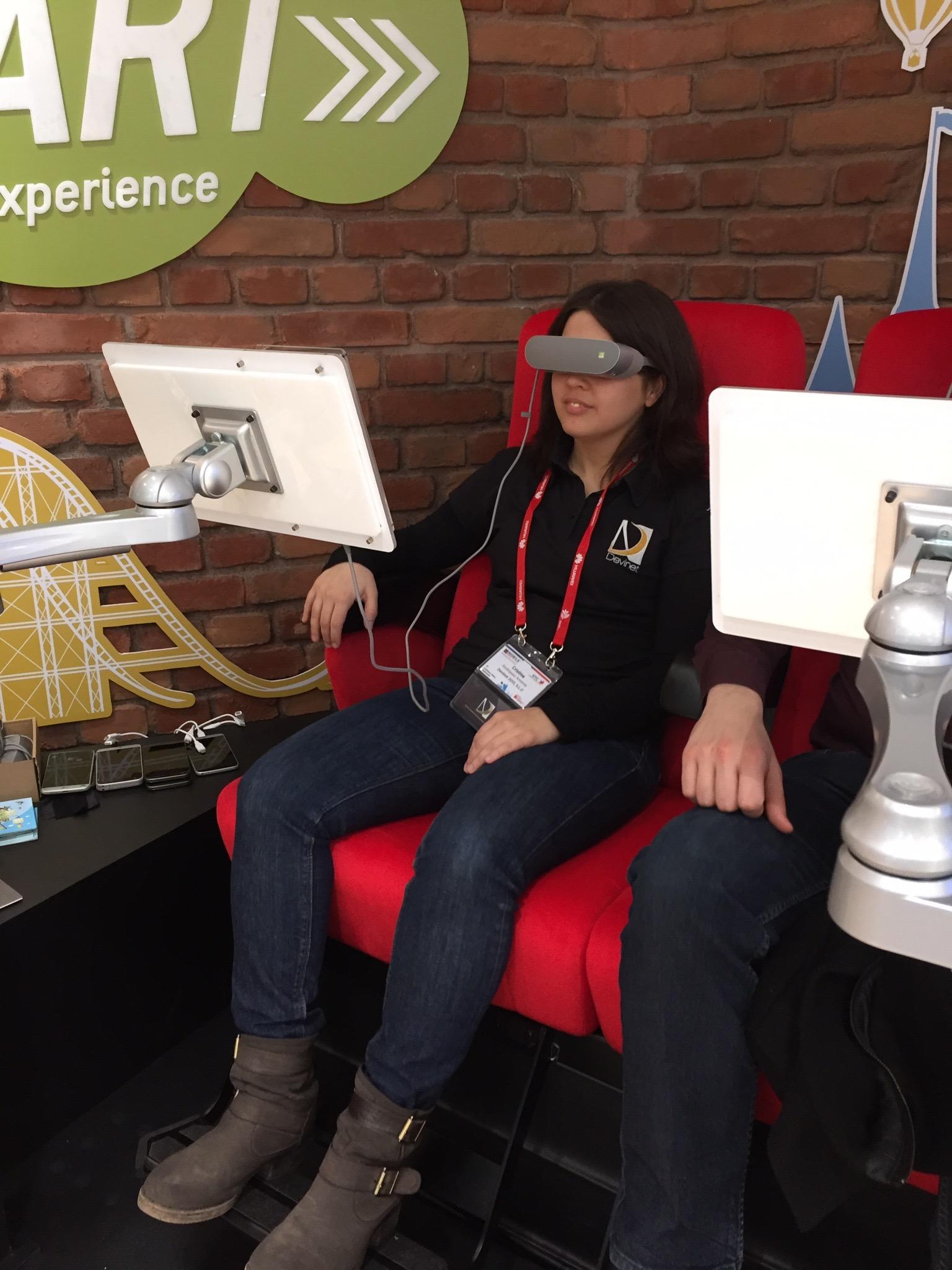 MWC - Realidad Virtual - Montaña Rusa